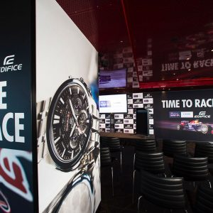 Redbull Racing Casio watch launch Australian GP