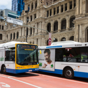 QLD buses